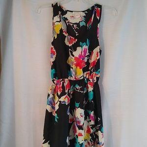 Love Fire High Low Asymmetrical Dress Sz Small
